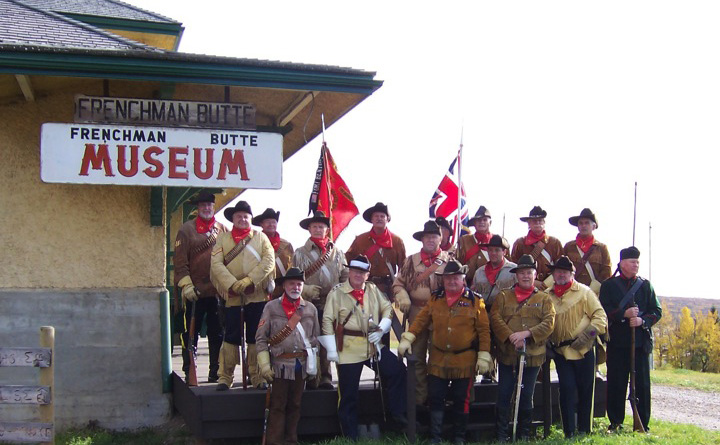 Steele's Scouts visit in 2007